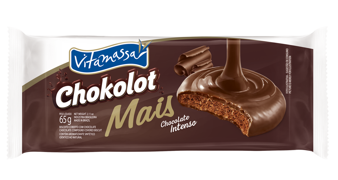 Chokolot Mais - Chocolate Intenso