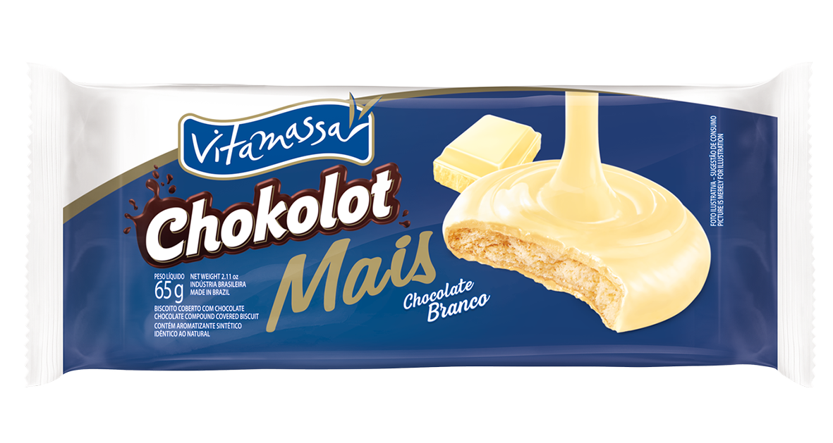 Chokolot Mais - Chocolate Branco