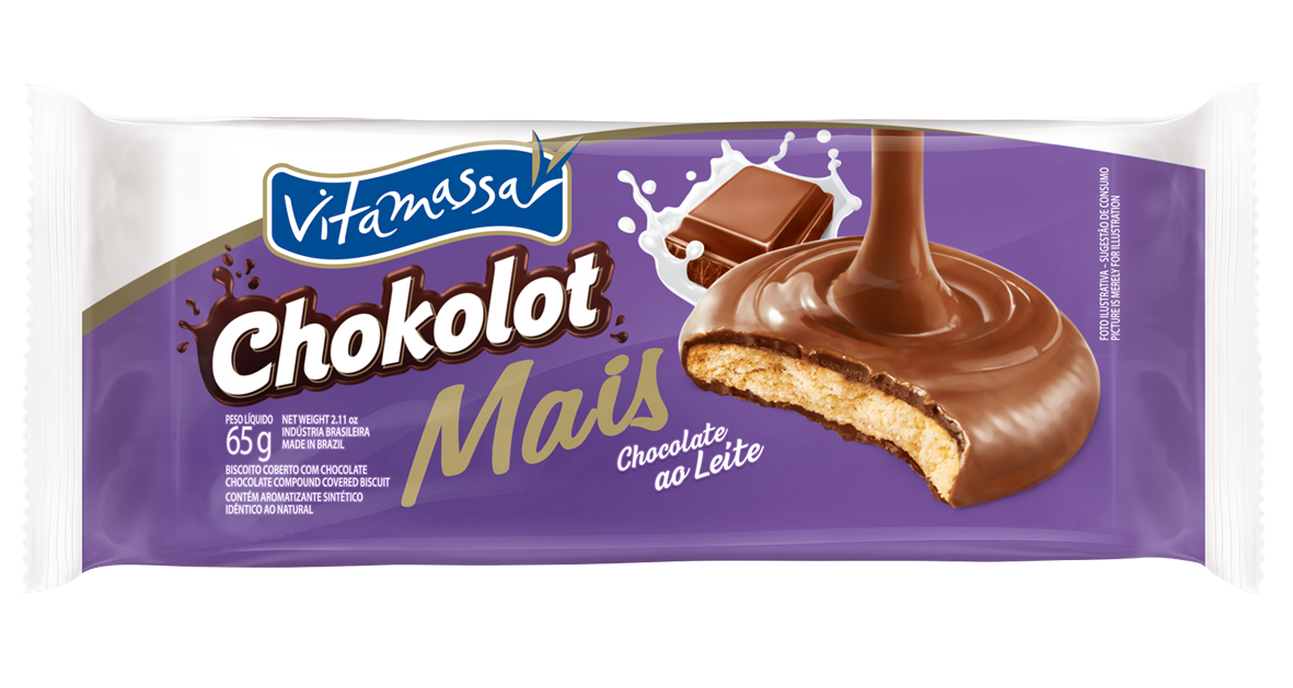 Chokolot Mais - Chocolate Ao Leite