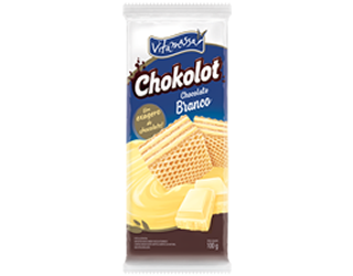 Chokolot Wafer - Sabor Chocolate Branco