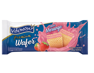 Premium - Wafer Morango